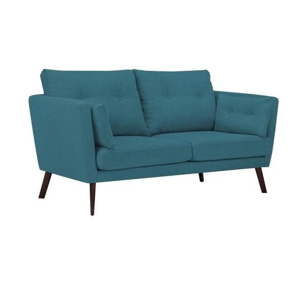 Canapea cu 2 locuri Mazzini Sofas Elena, turcoaz