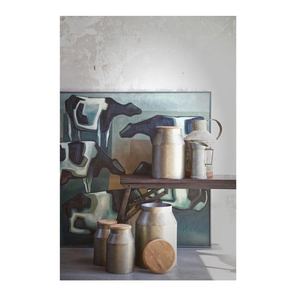 Dekorativní dóza BePureHome Barrel, výška35,5cm
