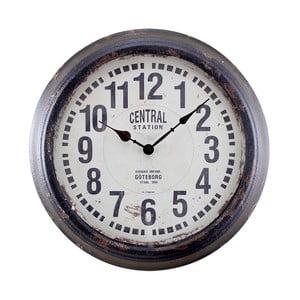 Nástěnné hodiny Centrastation Black