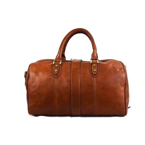 Kožená taška Santo Croce 82965 Brown