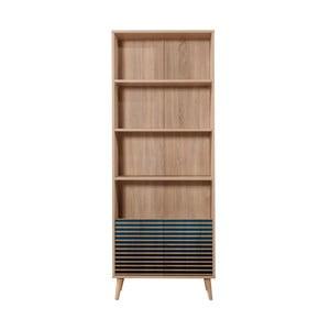 Knihovna Booki Blue Classic, 198 x 75 cm