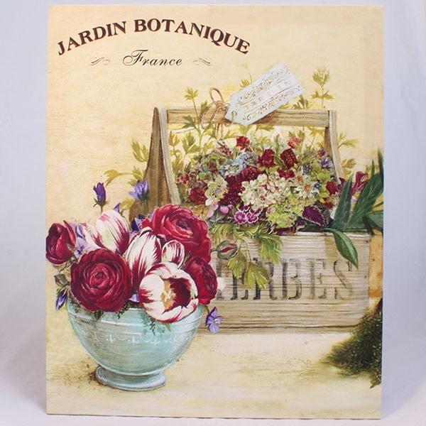 Obraz na plátně Jardin