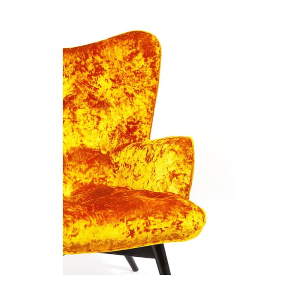 Křeslo v bronzové barvě Kare Design Vicky Diva