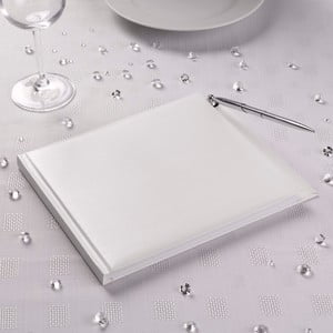 Kniha hostů s perem Neviti Premium Plain White
