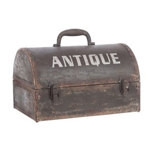 Truhla Antique Metal Trunk, 38x27x25 cm