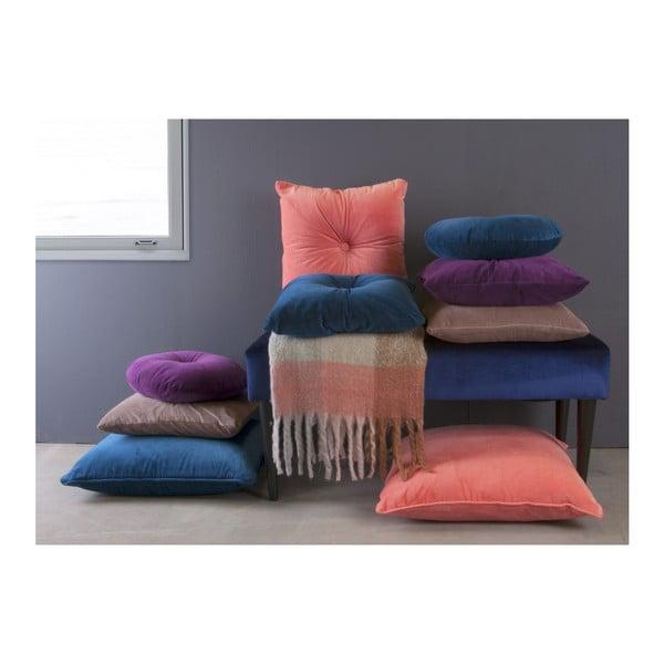 Růžový bavlněný polštář PT LIVING, 60 x 60 cm