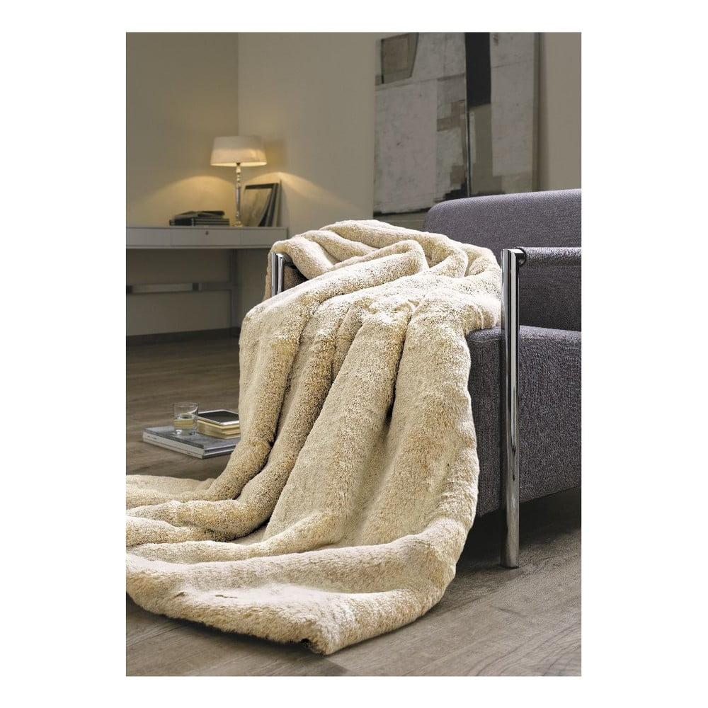 Přehoz z umělé kožešiny Fur, 140x200 cm
