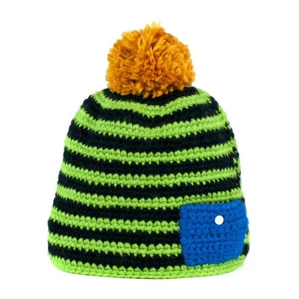 Zelená čepice Jolly
