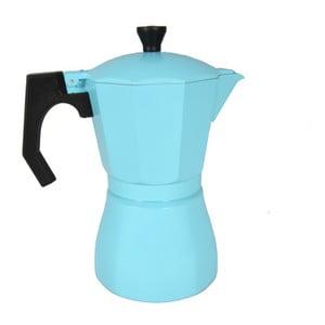 Světle modrá moka konvička JOCCA Coffee Maker, 385 ml