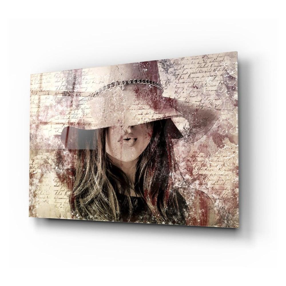Skleněný obraz Insigne Mysterious Woman