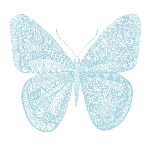 Plakát Karin Åkesson Design Butterfly Blue, 30x40 cm