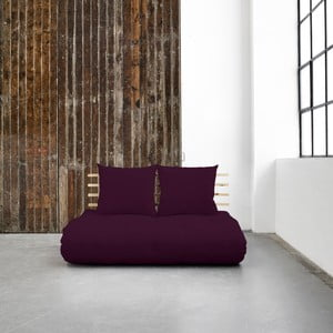 Variabilní pohovka Karup Shin Sano Natural/Purple Plum