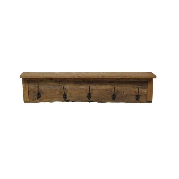 Nástěnný věšák z teakového dřeva HSM collection Oldie, délka90cm