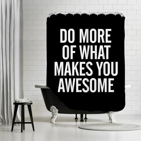 Koupelnový závěs What Makes You Awesome, 180x180 cm