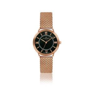 Dámské hodinky s páskem z nerezové oceli v barvě růžového zlata Frederic Graff Zoe