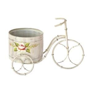 Květináč na kole Bettina Patina