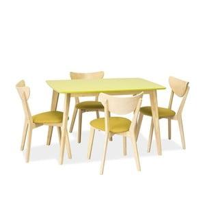 Jídelní stůl Combo, zelený