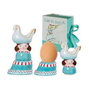 Kalíšek na vejce a slánka Italy