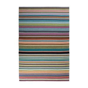 Vlněný koberec Feel Green, 70x140 cm