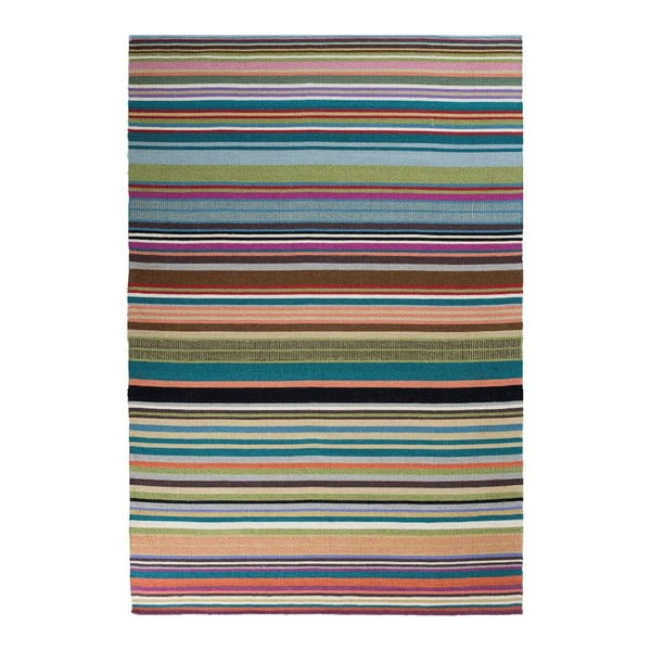 Vlněný koberec Feel Green, 170x240 cm