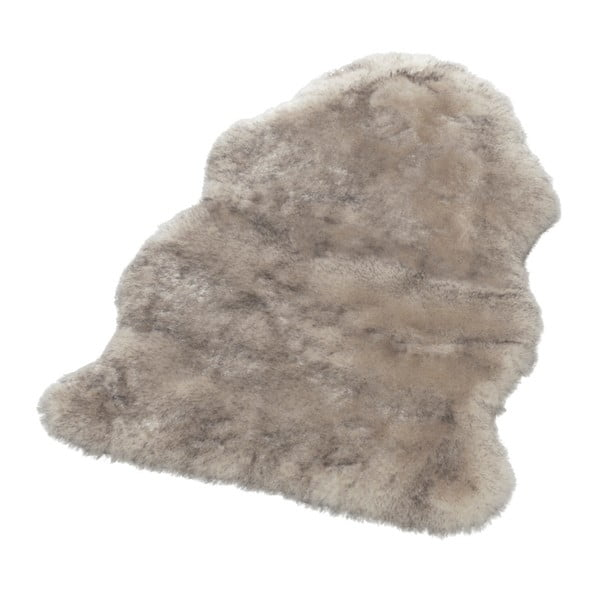 Covor din blană artificială Mint Rugs, 140 x 90 cm, taupe