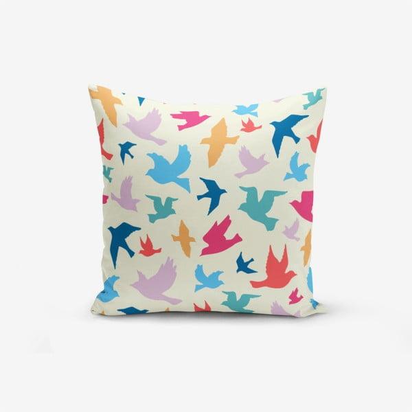 Modern Birds pamutkeverék párnahuzat, 45 x 45 cm - Minimalist Cushion Covers