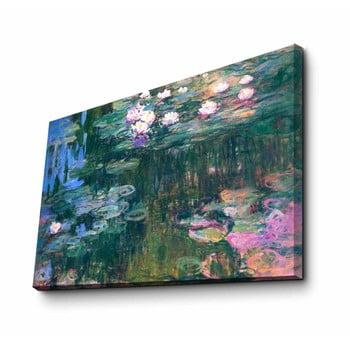 Reproducere tablou pe pânză Claude Monet, 45 x 70 cm de la Unknown