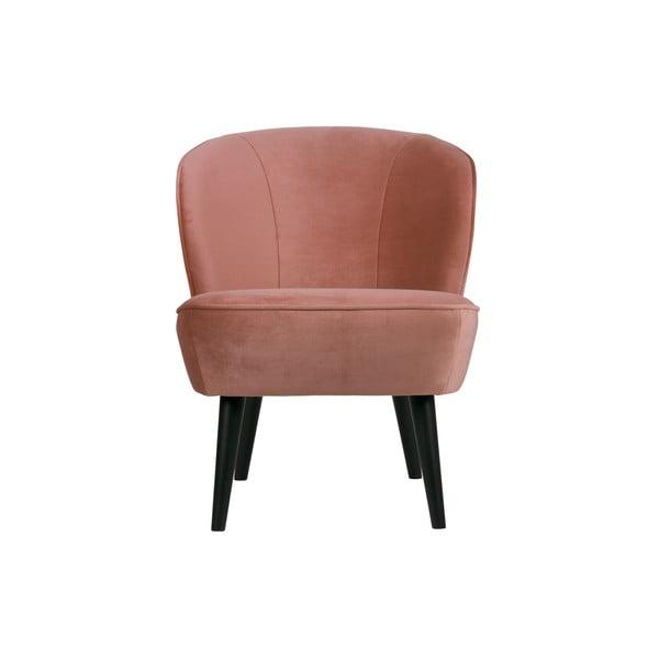 Sara rózsaszín fotel - WOOOD
