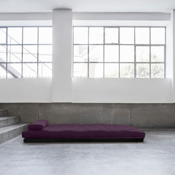 Dvoumístná variabilní lenoška Karup Figo Wenge/Purple
