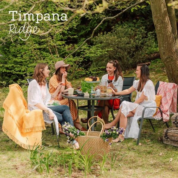 Set mobilier din metal pentru grădină Timpana Ridge