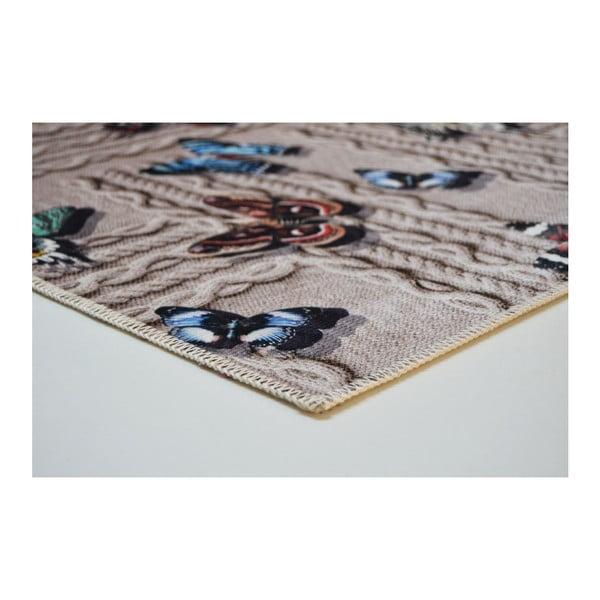 Odolný koberec Vitaus Cindy,50x80cm
