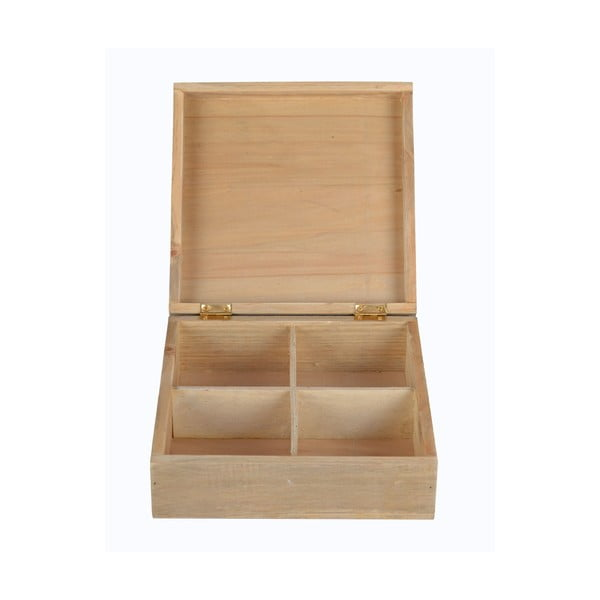 Dřevěná krabička Life