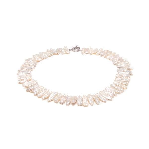 Náhrdelník z japonských perel Biwa GemSeller Salvia