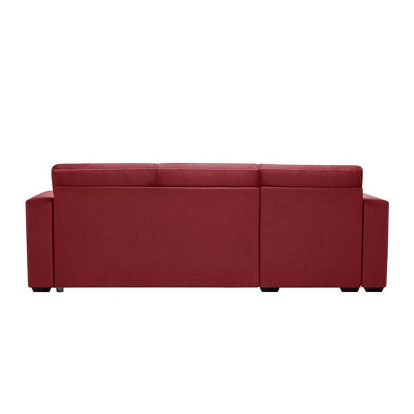 Červená sedačka Interieur De Famille Paris Succes, pravý roh