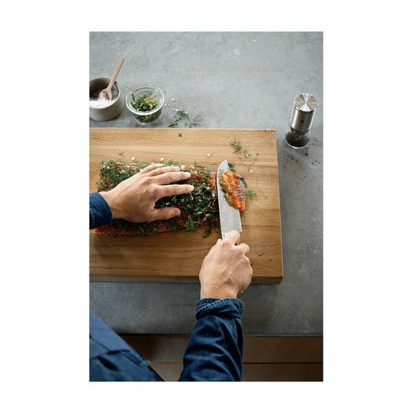 Cuțit pentru bucătărie cu o lamă specială din oțel WMF Gourmet, lungime 32 cm