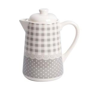Kávová konvice Grey Dots&Checks