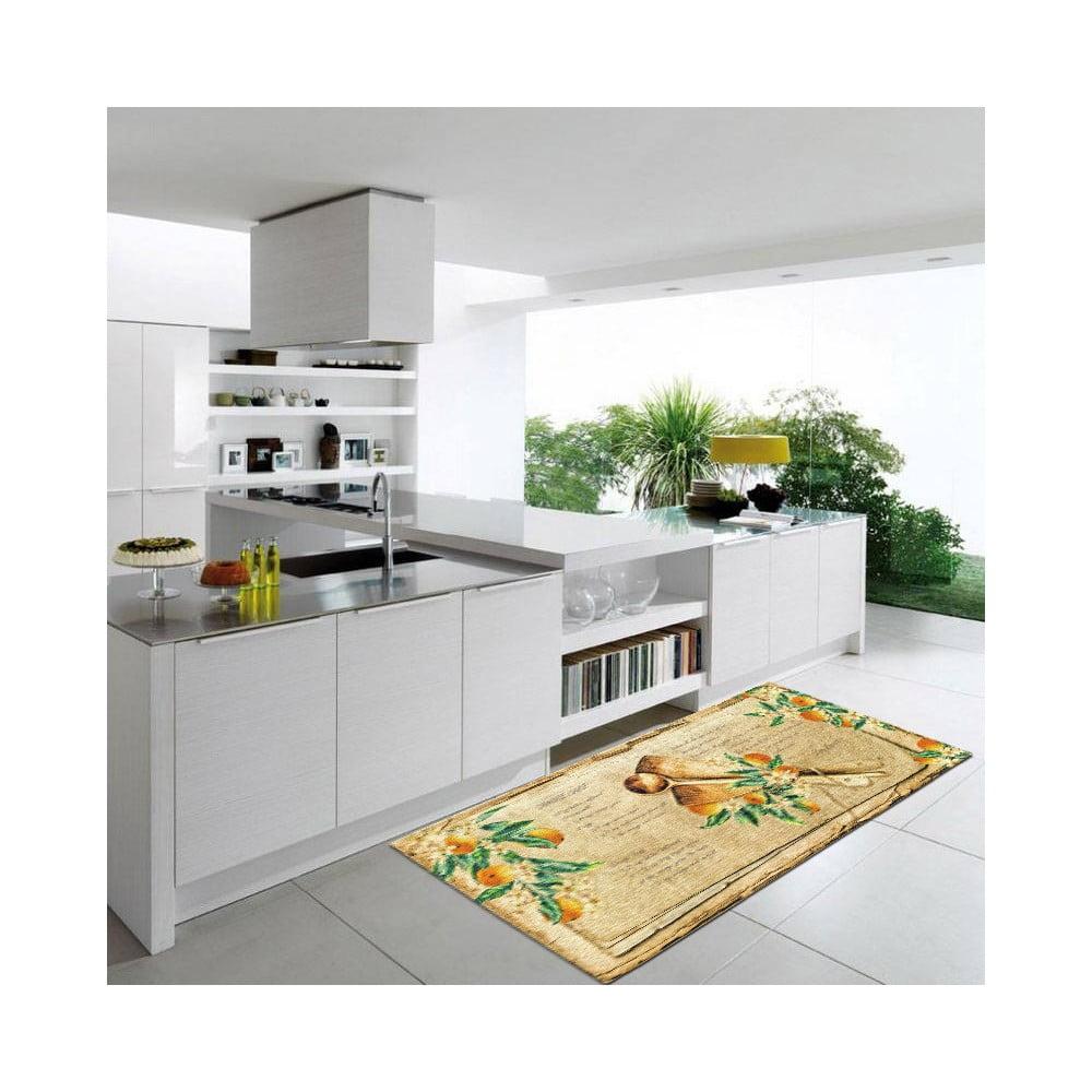 Vysoce odolný kuchyňský koberec Webtappeti Bon Appetit, 60 x 190 cm