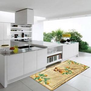 Vysoce odolný kuchyňský koberec Webtappeti Bon Appetit,60x140cm