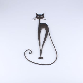 Decorațiune metalică în formă de pisică Dakls de la Dakls