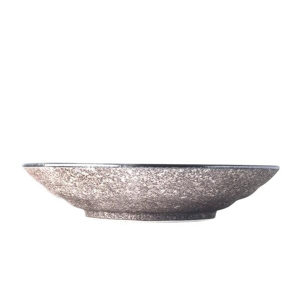 Beżowa ceramiczna miska do serwowania MIJ Earth, ø 29 cm