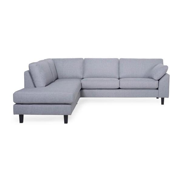 Garda világos szürke kanapé, baloldali kivitel - Softnord