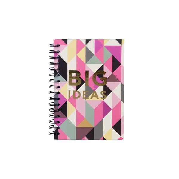 Spirálový zápisník Tri-Coastal Design Big Ideas Geo