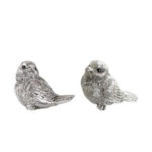 Sada 2 dekorativních ptáčků KJ Collection