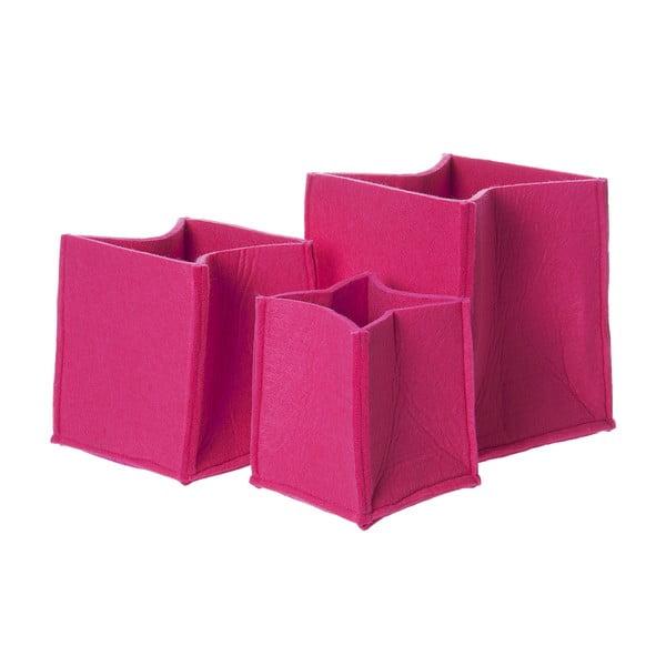 Skladovací koše Present Time Mellow Pink