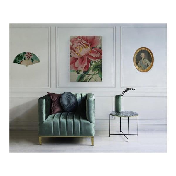 Barevný vějíř Velvet Atelier, 43 x 23 cm