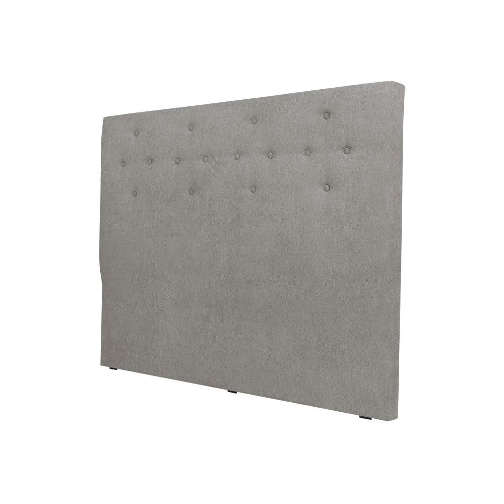 Světle šedé čelo postele Cosmopolitan design Barcelona, šířka 202 cm