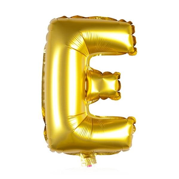 Balónek E zlaté, 30 cm