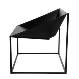 Černá židle vhodná do exteriéru TemaHome Tavares