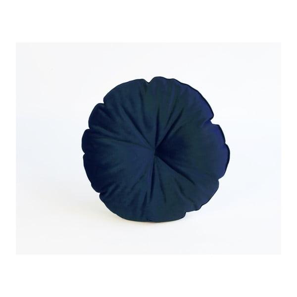 Redondo kék mikroszálas párna, ø 45 cm - Surdic