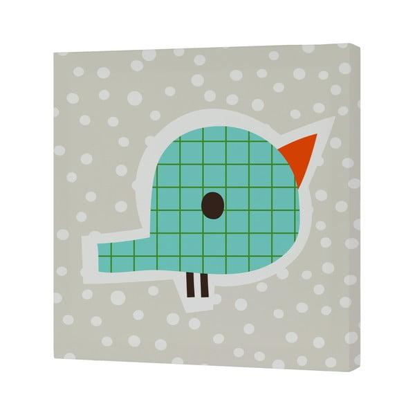 Nástěnný obrázek Drops Bird, 27x27 cm
